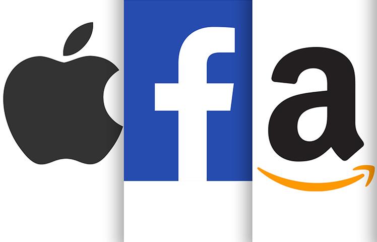 Apple Facebook Amazon